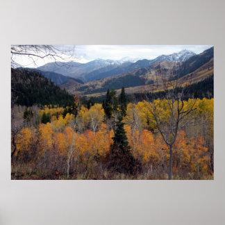 Mount Timpanogos, Utah Poster