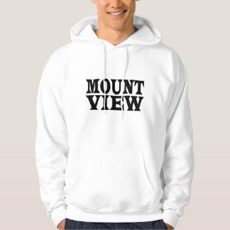 MOUNT VEIW text hoodie