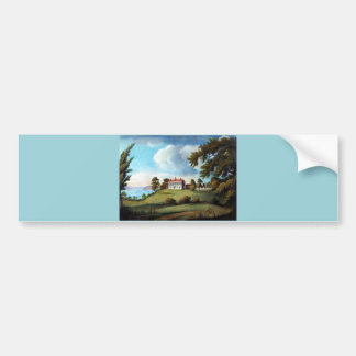 Mount Vernon, by Francis Jukes, 1800 Bumper Sticker