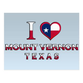 Mount Vernon, Texas Postcard