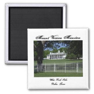 Mount Vernon White Rock Lake Magnet