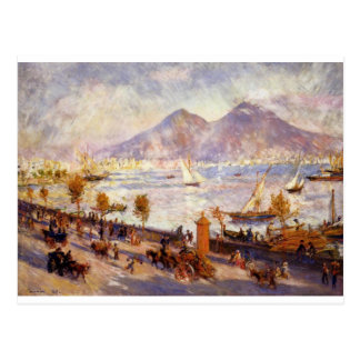 Mount Vesuvius in the Morning by Pierre-Auguste Postcard