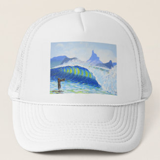 Mount Warning from the Wreck Trucker Hat