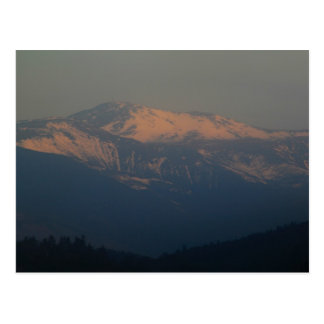 Mount Washington Morning Light Postcard