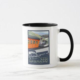 Mount Washington, New HampshireCog Railroad Mug