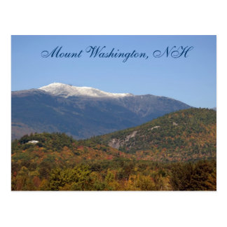 Mount Washington, NH    Postcard