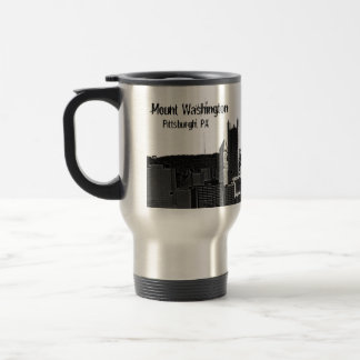 Mount Washington, Pittsburgh, PA Travel Mug