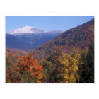 Mount Washington Snow Foliage Postcard