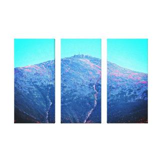 Mount Washington Triptych Canvas Print