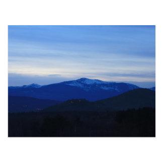 Mount Washington Twilight Postcard