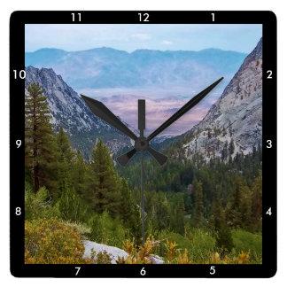 Mount Whitney Trail View #2: Glorious View Clock B