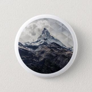 Mountain 2 Inch Round Button