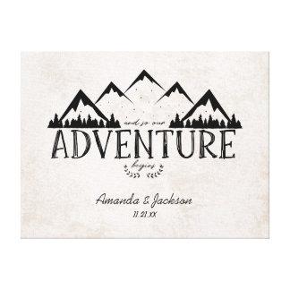 Mountain Adventure Alternative Wedding Guestbook