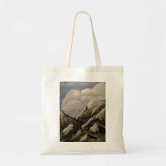 Mountain and Clouds Tote Bag