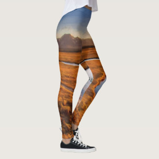 Mountain and River Leggings