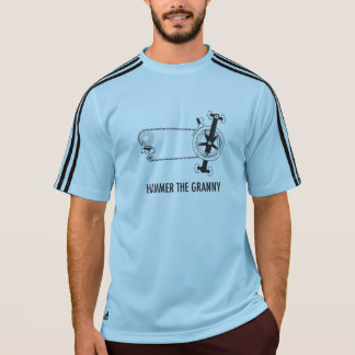 Mountain and Road Biker Granny Gear T-Shirt