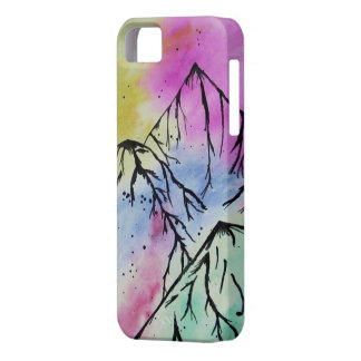 Mountain art phone case