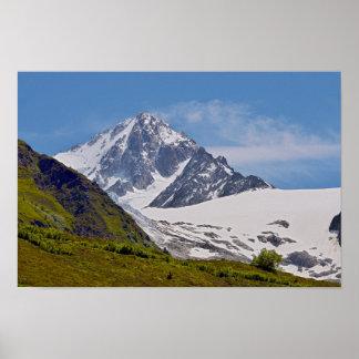 Mountain at Charamillon Poster