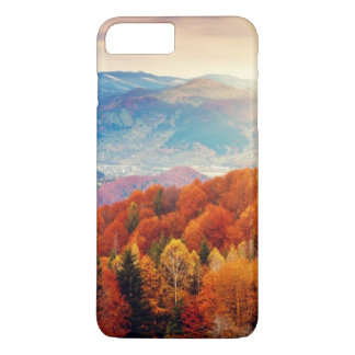 Mountain autumn forest landscape iPhone 8 plus/7 plus case