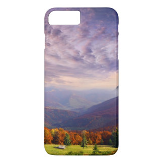 Mountain autumn landscape with forest 2 iPhone 7 plus case