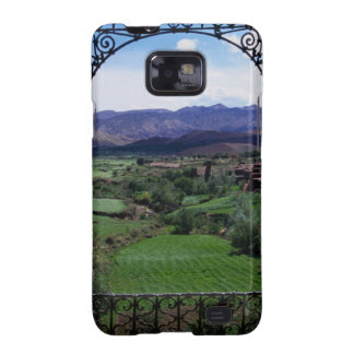 Mountain balcony scenic view galaxy SII covers