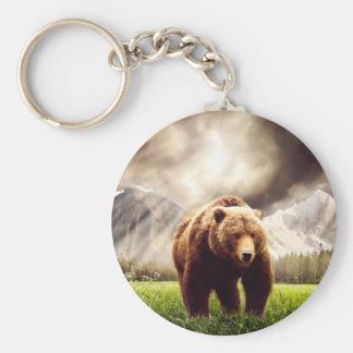 Mountain Bear Keychain