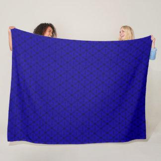 Mountain Berry Triangle Pattern Fleece Blanket