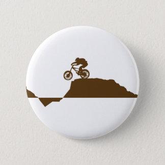 Mountain Bike 2 Inch Round Button