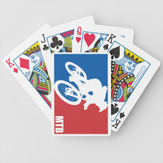 Mountain Bike All-Star Bicycle Playing Cards