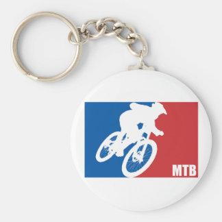 Mountain Bike All-Star Keychain