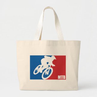 Mountain Bike All-Star Large Tote Bag