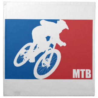 Mountain Bike All-Star Napkin