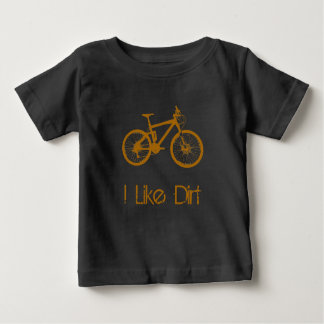 Mountain Bike Dirt Baby T-Shirt