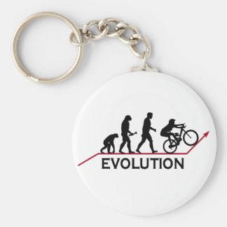 Mountain Bike Evolution Key Chain