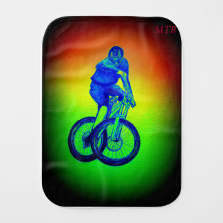 Mountain bike Llandegla mtb bmx Burp Cloth