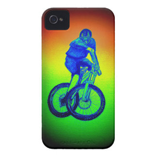 Mountain bike Llandegla mtb bmx Case-Mate iPhone 4 Cases