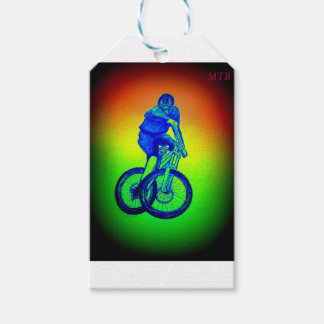 Mountain bike Llandegla mtb bmx Gift Tags