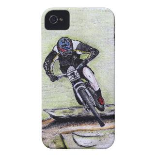 Mountain bike Llandegla mtb bmx iPhone 4 Case-Mate Case