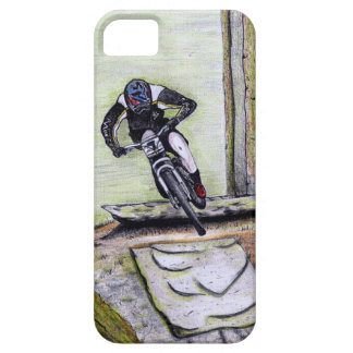 Mountain bike Llandegla mtb bmx iPhone 5 Cover