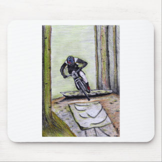 Mountain bike Llandegla mtb bmx Mouse Pad