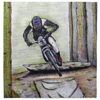 Mountain bike Llandegla mtb bmx Napkin
