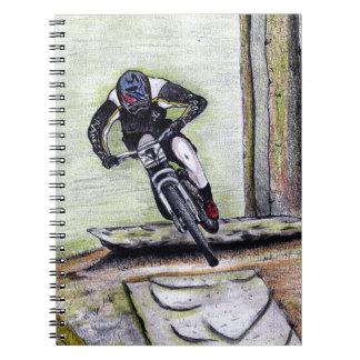 Mountain bike Llandegla mtb bmx Notebook