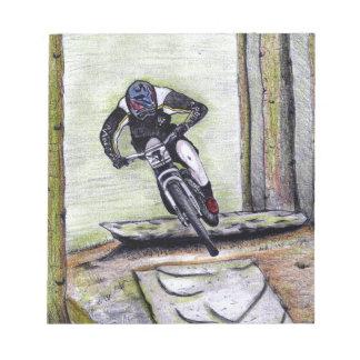 Mountain bike Llandegla mtb bmx Notepad