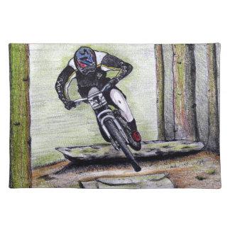 Mountain bike Llandegla mtb bmx Placemat