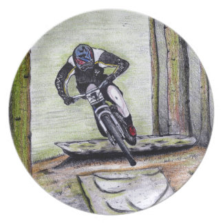 Mountain bike Llandegla mtb bmx Plate