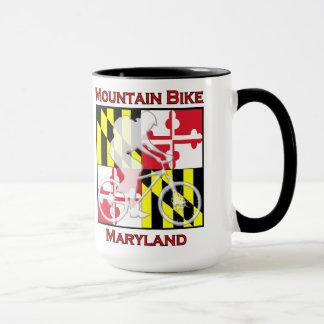 Mountain Bike Maryland Coffee Mug