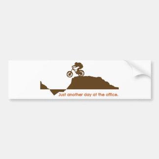 Mountain Bike - Office Bumper Sticker