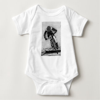 Mountain Bike Ride Baby Bodysuit