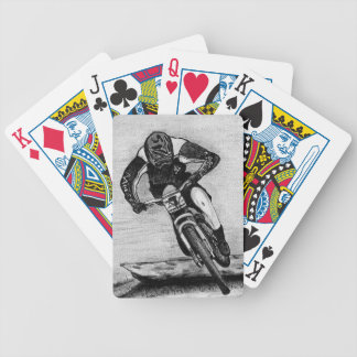 Mountain Bike Ride Bicycle Playing Cards