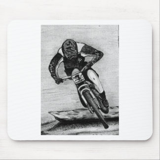 Mountain Bike Ride Mouse Pad